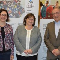 MdB Marianne Schieder informierte sich über die Arbeit von Tandem